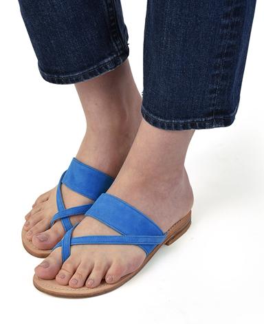 小提花凉鞋