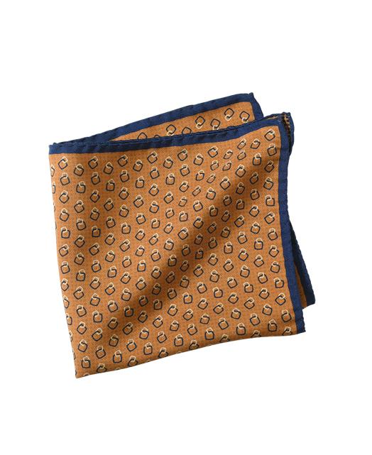 蚕丝口袋方巾