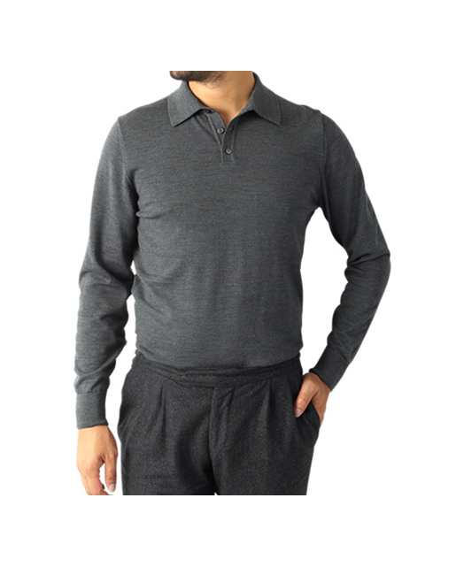 30G 羊毛针织POLO衫