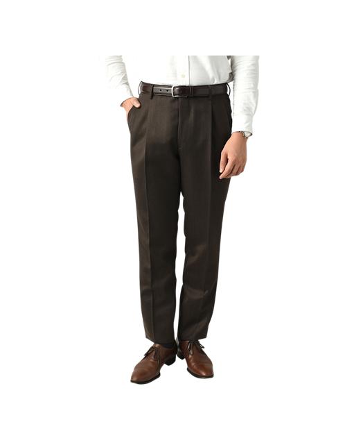羊毛西裤(双褶)