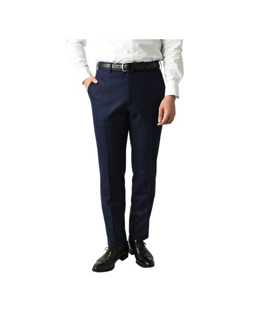 羊毛针织西裤