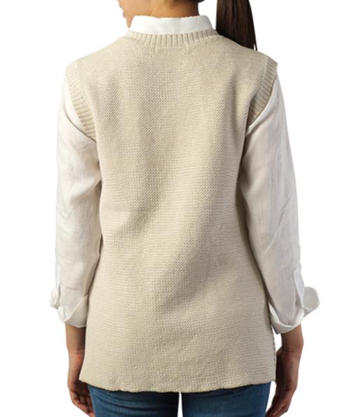 纯棉针织马夹