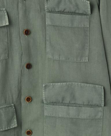 意大利四口袋衬衫