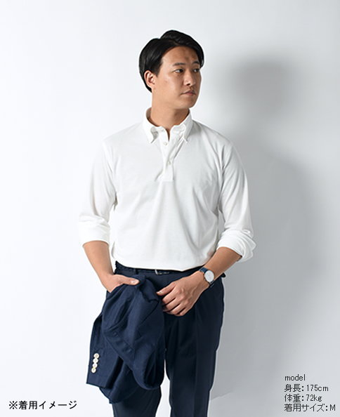 长袖polo衬衫