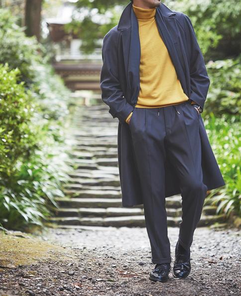 羊毛休闲窄脚裤