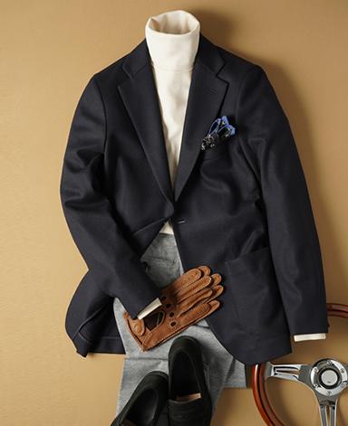 TPS无缝羊毛针织外套