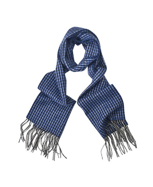 羊毛羊绒混纺围巾