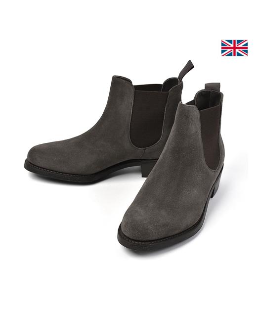 BARKER 牛皮靴