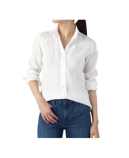 女士亚麻衬衫