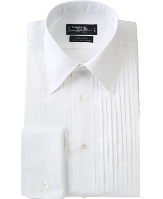 尖领燕尾服衬衫