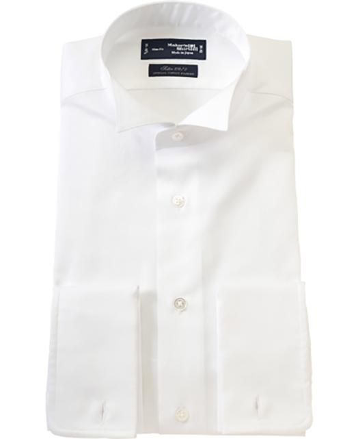 翼领燕尾服衬衫