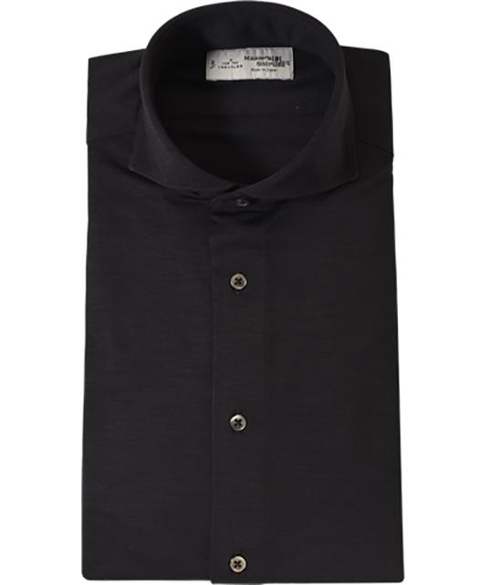 羊毛针织衬衫