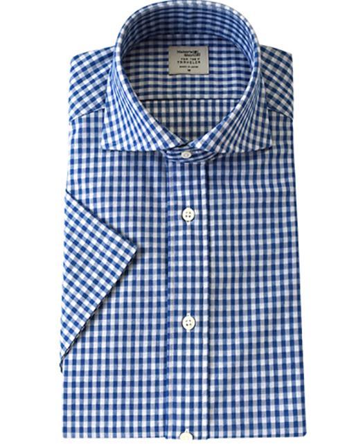 短袖针织衬衫